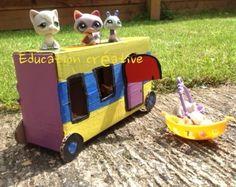 Pet Shop caravan