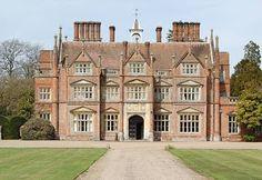 Heydon Hall in Norfolk, built 1851-1854 in Elizabethab style.