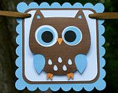 hoot party banners