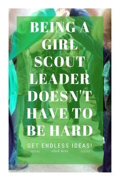 Resources for Girl Scout Ideas  Girl Scout Leader Connect is a place for Girl Scout leaders to get Girl Scout ideas with step by step activities for badges, ceremonies, World Thinking Day, Girl Scout Bronze, Silver and Gold awards, parties, service project and more. Along with blog post with ideas, you will also find easy to use booklets and printable in the GS Leader Connect shop.