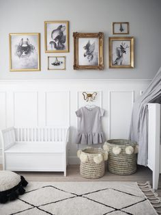 Scandinavian children's rooms
