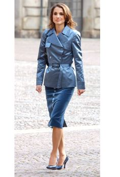 Quién.com : 43 looks impecables de Rania de Jordania