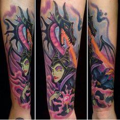 maleficent tattoo - Google Search