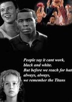 Amazing movie: remember the titans