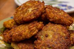 Healthier Sweet Potato Latkes