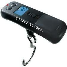 Travelon Luggage Micro Scale - TJ Maxx and the like always have luggage scales available at a discounted price. I prefer the digital kind and the one I got from REI hasn't failed me yet. Best Travel Luggage, Travel Bags, Micro Scale, Lightweight Luggage, Luggage Accessories, Tech Accessories, Digital Scale, Travel Gadgets, Gadgets Shop