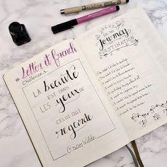#bulletjournal #lettering #letteritfrench #journaling
