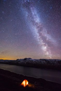 The Milky way above Jotunheimen (Norway), by Espen Haagensen via 500px