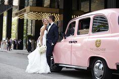Wedding Photography. Langham Hotel Chicago. Pink. Dennis Lee Photo. Chicago.