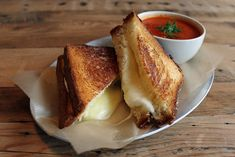 Grilled Cheese & Tomato Soup
