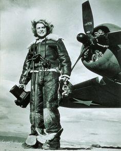 Photographer Margaret Burke-White.