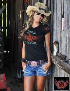 Love this shirt for motorcycle weekends!