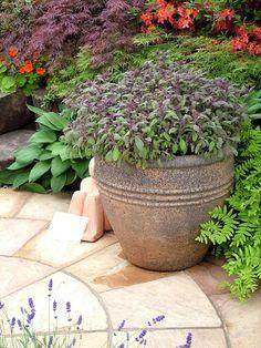 Country Outdoor Flower Pots | Ceramic Plant Pots