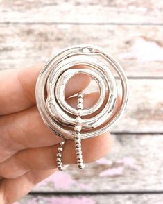 These are our Living Circles, and yep, you may have notices they share the same name as our new Living Rings... that's because they match and they are the same solid organic vine design. www.uberkate.com.au
