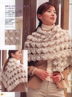 Hairpin Crochet Shawl with full pattern