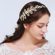 2016 New Trendy Magnificent Rhinestone Bridal Tiaras Fashion Wedding G – BRIDEHAIRACCESSORY.COM