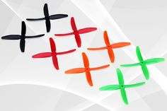 DYS 4 blade prop 5040 with high thrust and performance for the FPV racer