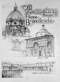 of Architecture in Drawings Brunelleschi early Renaissance. The History of Architecture in Drawings. By Vlad BucurBrunelleschi early Renaissance. The History of Architecture in Drawings. By Vlad Bucur Art History Timeline, Art History Major, Art History Memes, Art History Lessons, History Tattoos, Architecture Drawing Plan, Architecture Sketchbook, Architecture Artists, Renaissance Architecture