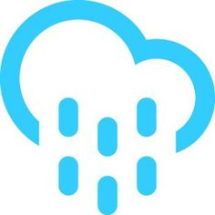 Rain today! With a high of 54F and a low of 40F.