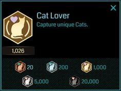 Finally, a badge for me. I've petted at least 5,000 cats #ingress