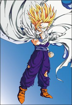 gohan has to be my Favorite Character in the entire DBZ story Dragon Ball Z, Akira, Ssj2, Animation, Fan Art, Anime Shows, Anime Comics, Opus, Anime Characters
