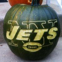 New York Jets pumpkin
