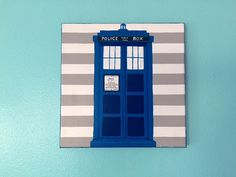 Our new etsy shop! Doctor Who Canvas Painting 8x8 by Shop768110 on Etsy