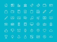 48 Bubbles – Free iconset