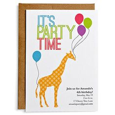 Add your info to these customizable invites, and then print them to mail.