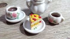 Pineapple Cake Charm Miniature Food Food by AndisaCharmsShop