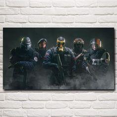 """Luck Over Kill"" Rainbow Six Siege Canvas Poster"