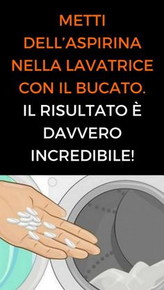 Come sbiancare capi ingialliti e rimuovere le macchie con l'Aspirina - Idee Geniali Cleaning Recipes, Cleaning Hacks, Desperate Housewives, Problem Solving, Home Remedies, Woodworking Projects, Life Hacks, Album, Hobby