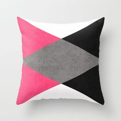 cosmopolitan triangles Throw Pillow by her art