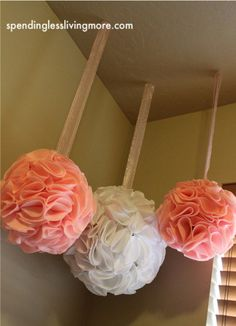 Will make this. . . for one of my girl's rooms, a shower or birthday. . . or all!