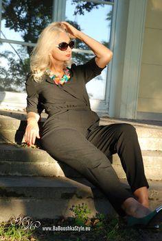Babooshka Style - Blog modowy: Agaty i kombinezon