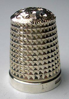 RP: VICTORIAN Silver THIMBLE- Chester 1899 - ebay.com