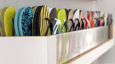 Organize seus sapatos: seis ideias de sapateiras