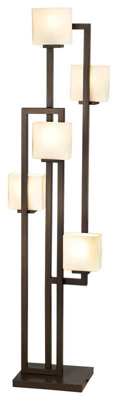 Possini Euro Lighting on the Square 5-Light Floor Lamp -