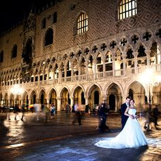 Wedding in Venice, Piazza San Marco. Italy