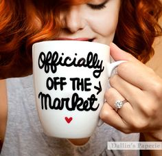 A personal favorite from my Etsy shop https://www.etsy.com/listing/250006703/personalized-mug-engagement-gift-mug