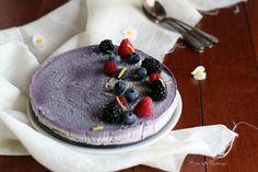 Cheesecake vegana con frutti di bosco - Son nata Paperoga
