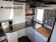 A modern tiny house on wheels in Quebec Canada Designed built