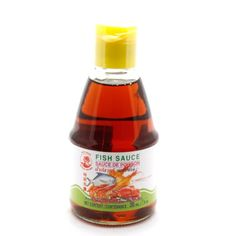 Fish Sauce by the brand Cock....really.