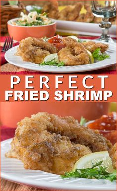 Fried shrimp never tasted as good as this. These are just perfect!
