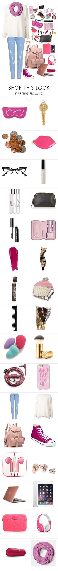 """""""Don't Ever Give Up"""" by sportinggirl00 ❤ liked on Polyvore featuring Rebecca Minkoff, Annina Vogel, Lulu Guinness, Kate Spade, Retrò, Bobbi Brown Cosmetics, philosophy, Warehouse, Lili Radu and NARS Cosmetics"""