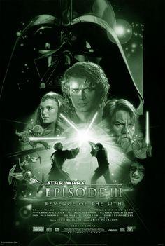 STAR WARS: Episode III: REVENGE OF THE SITH is het derde deel uit de Star Warssaga. Deze Amerikaanse film werd gemaakt in 2005, en geregisseerd door George Lucas naar een eigen scenario. De film is op 19 mei 2005 in première gegaan, met als acteurs o.a. Ewan McGregor, Hayden Christensen en Natalie Portman.