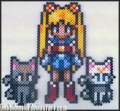 Sailor Moon Sprites by Ginabobina101.deviantart.com on @deviantART