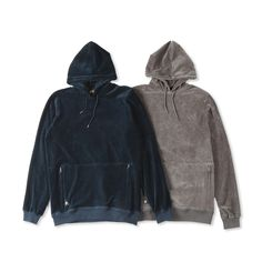 """@10Deep """"Boxed In Velour Hoodie"""" 