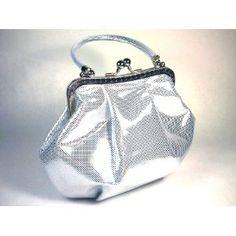 HANDBAG Tote Metallic Silver - WiseGloves EVENING BAG WOMEN GIRL BAG TOTE PURSE HANDBAG CLUTCH,$34.99