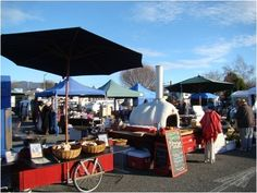 Motueka market day - from local produce to asian treasures and beyond